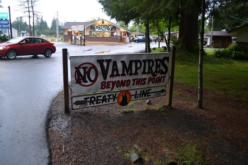 """город Форкс из саги """"Сумерки"""", штат Вашингтон (Forks from Twilight, WA)"""