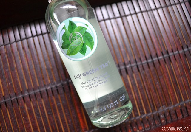 The Body Shop Fuji Green Tea Eau de Toilette Review