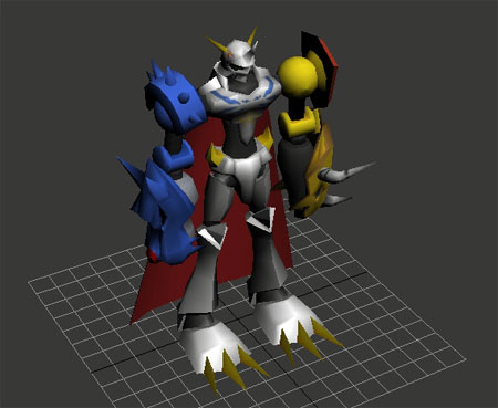 Digimon Omnimon Papercraft