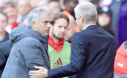 Take It Easy With Me, Wenger Tells Mourinho