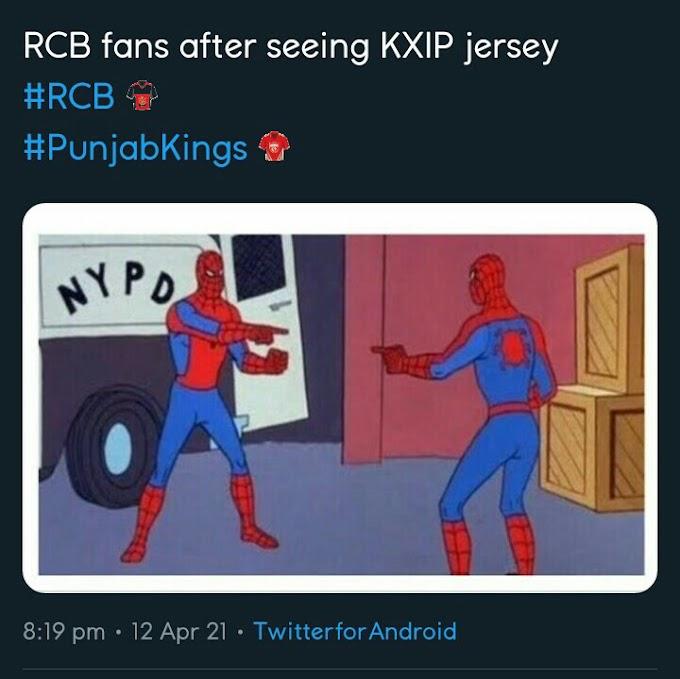 #PunjabKings Memes on Twitter | TrendongTrending Memes of PunjabKings