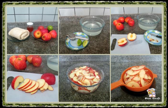 Rosas de maçãs 3