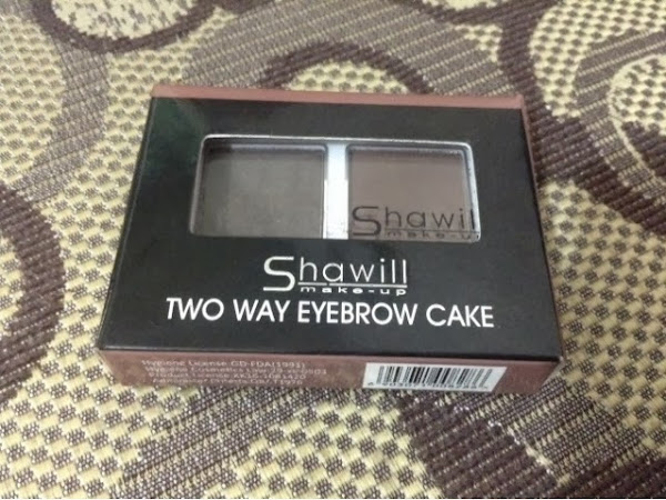 Shawill Two Way Eyebrow Cake Review