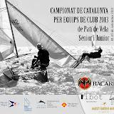 Campionat de Catalunya per Equips de Club 2013 - Patí a Vela