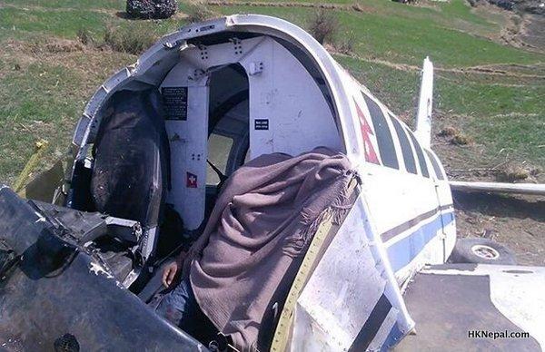 काष्टमण्डप एयरको विमान दुर्घटना, पाइलट  र को-पाइलटको मृत्यु