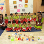 Square Day Celebration of Playgroup Evening Section at Witty World, Chikoowadi(2017-18)