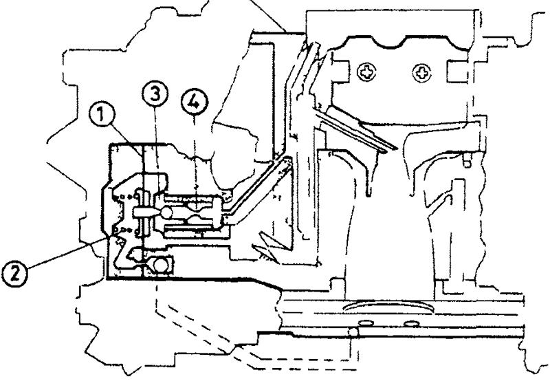 Схема обогатительного устройства - с использованием диафрагмы