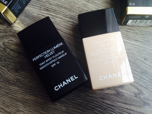 23147379e05 ... I didn t buy these foundations in one go. I had Vitalumière Aqua first.  The one on the photo is already my third bottle. I got Perfection Lumière  Velvet ...
