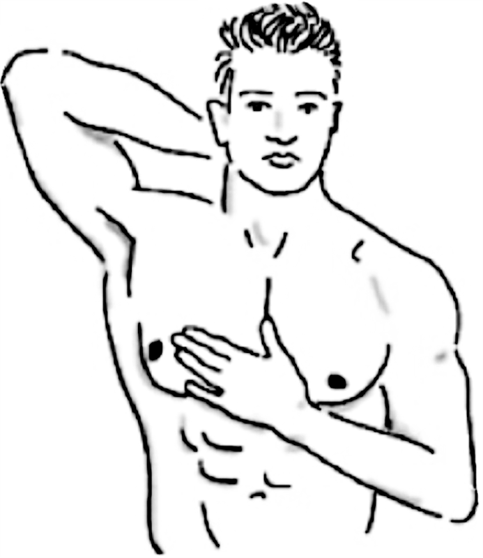 Male Breast cancer coloring pages