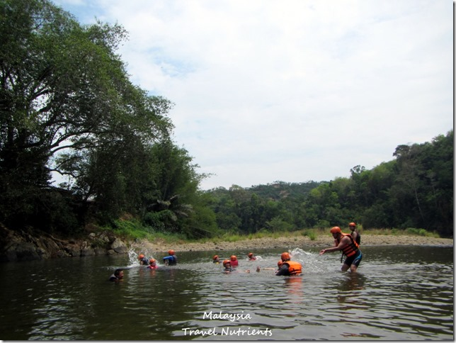 馬來西亞沙巴 九如河泛舟 溜索 (21)