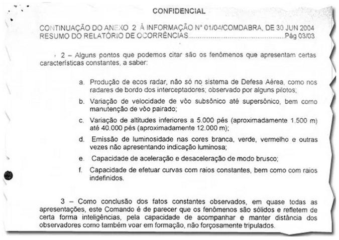 FAB DOCUMENTOS CONFIRMA EXISTENCIA DE OVNI 01