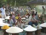 The twice-weekly market at Amarpurkashi