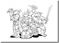 tortugas ninja colorear (6)