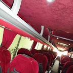 Het interieur van de Vanhool TD 927 van Krol Reizen bus 45