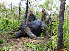 Mr Jorgen Posselt, Germany with a very black bull with thick horns, taken in January