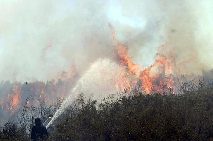 Οι κινήσεις που πρέπει να κάνουμε σε περίπτωση που μια πυρκαγιά ξεσπάσει κοντά μας