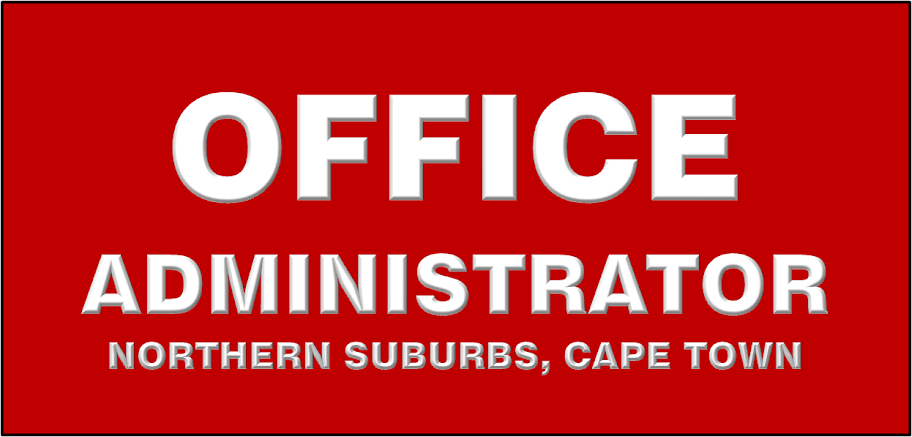 OFFICE ADMIN POSITION AVAILABLE IN CAPE TOWN