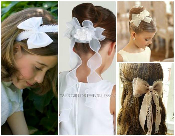 Peinados bonitos para comunion