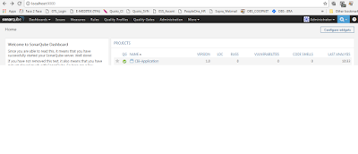 SonarQube not showing any Bug/Vulnerability Report - Google