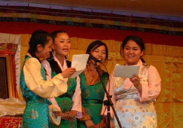 Nyenchen Thangla Girls