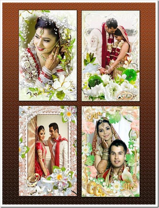 Floral photo frames 2016
