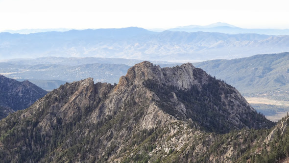 Antsell Rock from the vicinity of Red Tahquitz