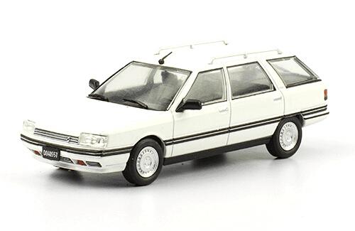 Renault 21 Nevada TXE 1989 1:43, autos inolvidables argentinos 80 90