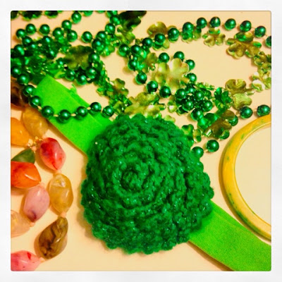 Green Accessories for St Patricks Day