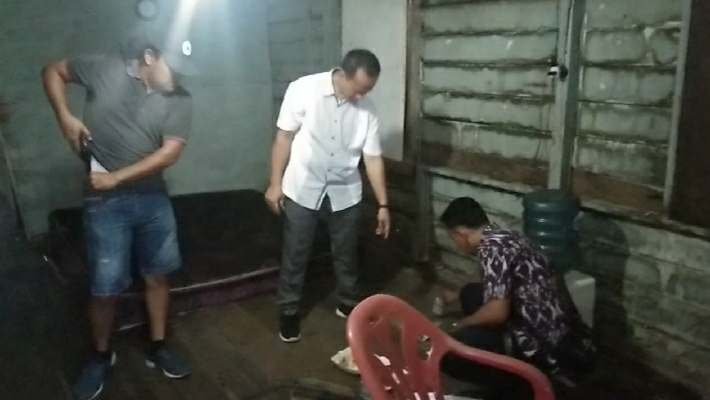Ucapan Kapolres Sikat Habis Narkoba, Sat Narkoba Polres Sergai Kembali Gerebek Kampung Narkoba di Desa Nagur