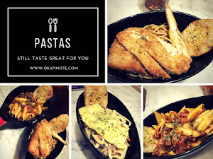 LOVE MORE Pasta Menus at IMPERIAL TABLES