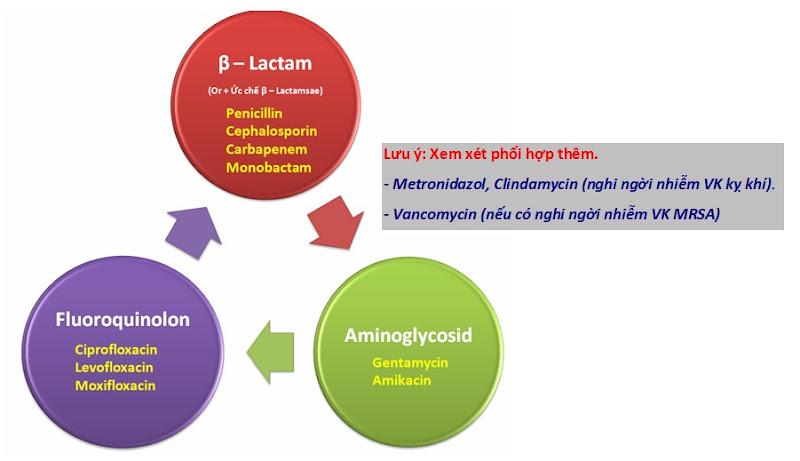 Phối hợp kháng sinh trên lâm sàng
