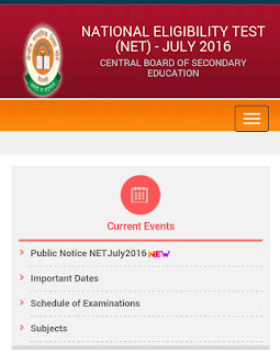 CBSE NET 2016