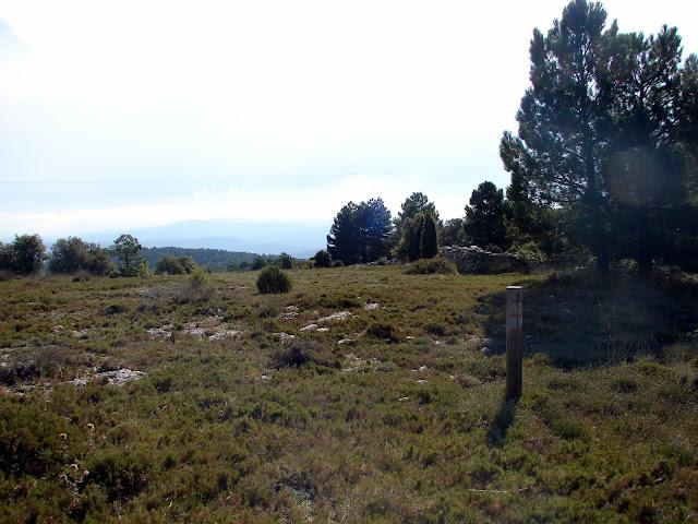 senderismo Cinctorres Creu del Xelat Barran Barcella PR-CV 308