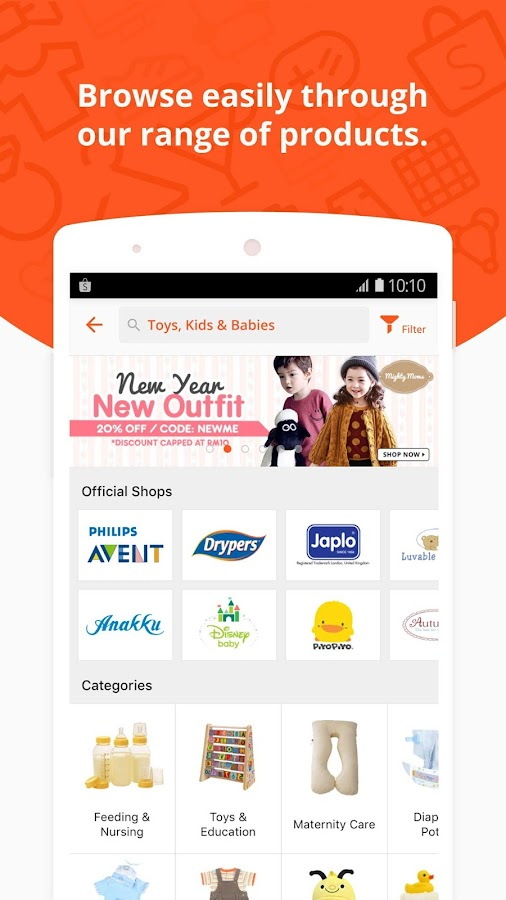 Shopee MY:FreeShipping for All- screenshot