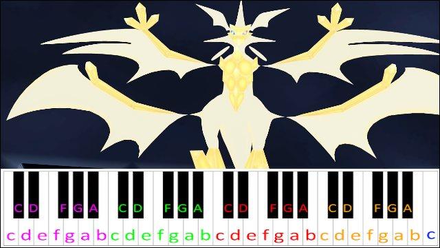 Ultra Necrozma Battle Theme (Pokemon) ~ Piano Letter Notes