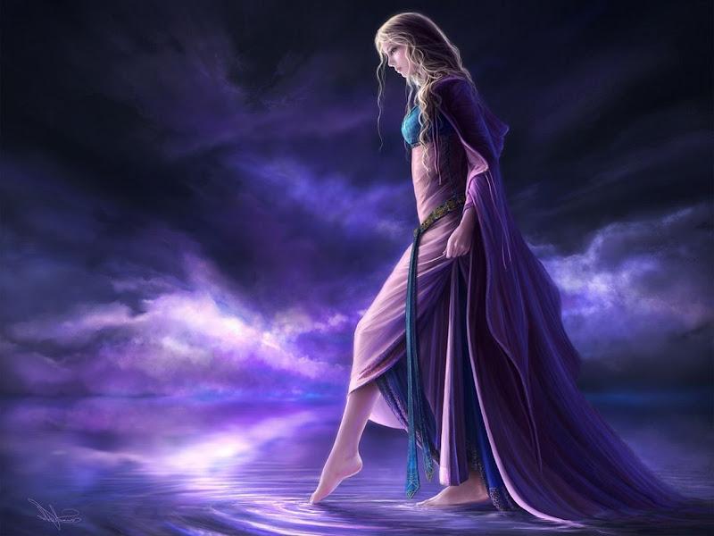 Girl Walking On Water, Magic Beauties 3