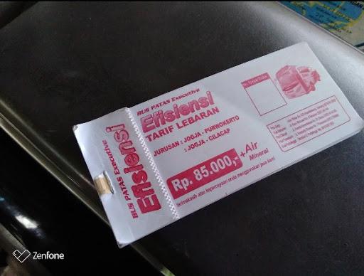 Tiket bus Cilacap Jogja