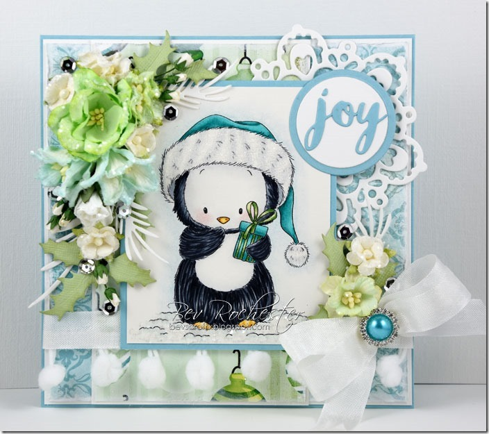 Bev-Rochester-Whimsy-penguin-with-present