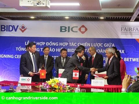 Hình 2: BIC ký kết thỏa thuận hợp tác chiến lược với nhà bảo hiểm toàn cầu đến từ Canada