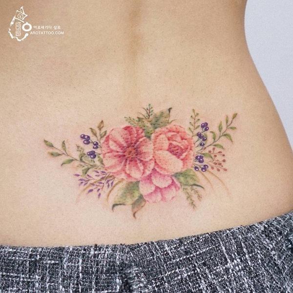 este_fabuloso_aquarela_flor_da_tatuagem