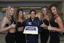 Sauber F1 Team 400 GPs.Monisha Kaltenborn with pit girls