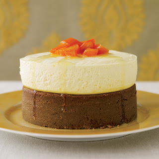 Gingerbread with Quark Cheesecake.