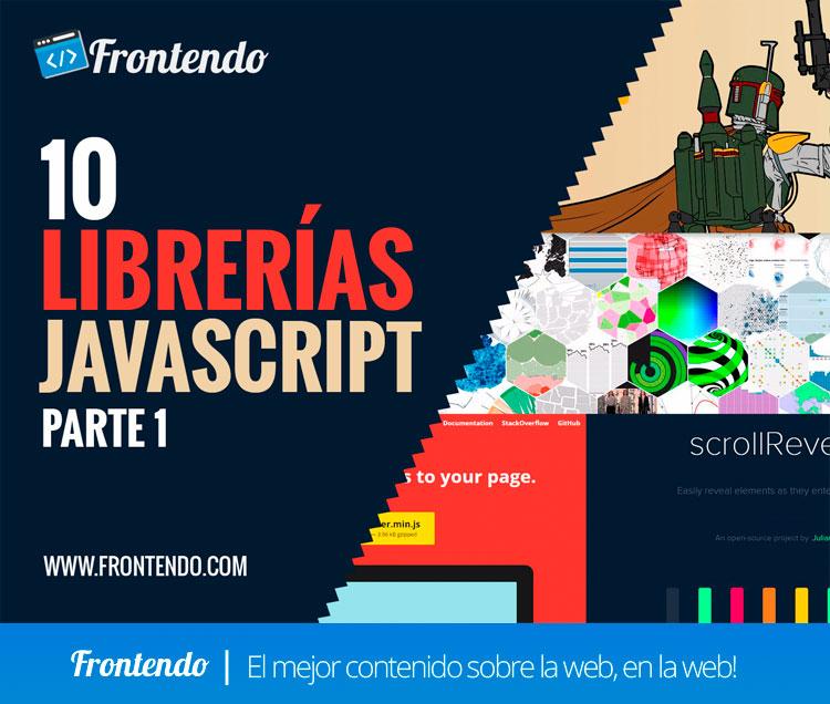 10 librerías Javascript