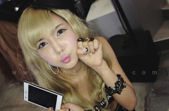 Showgirl G-star 2012: Cha Sun Hwa - Ảnh 76