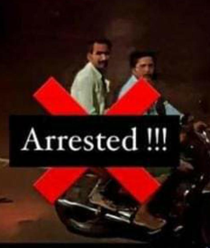 inhuman act-accused arrest | ಬೈಕ್ಗೆ ಕಟ್ಟಿ ಶ್ವಾನವನ್ನು ಎಳೆದೊಯ್ದ ಆರೋಪಿಯ ಸೆರೆ, ಇನ್ನೊಬ್ಬನಿಗೆ ಶೋಧ