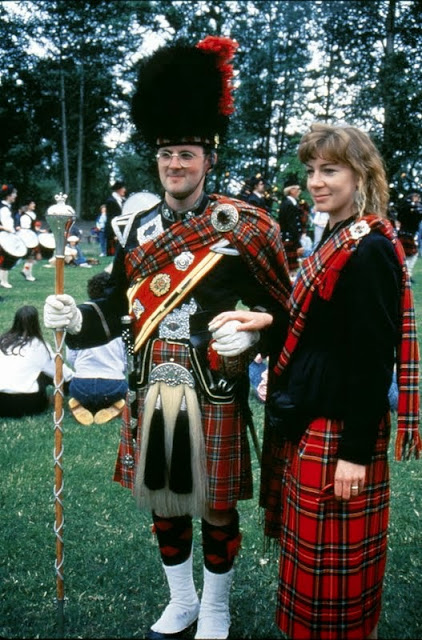 The outdoor Scottish Highland Games celebrates Scottish culture and heritage. The games take place the first weekend in June every year.Credit: Norm McBeath