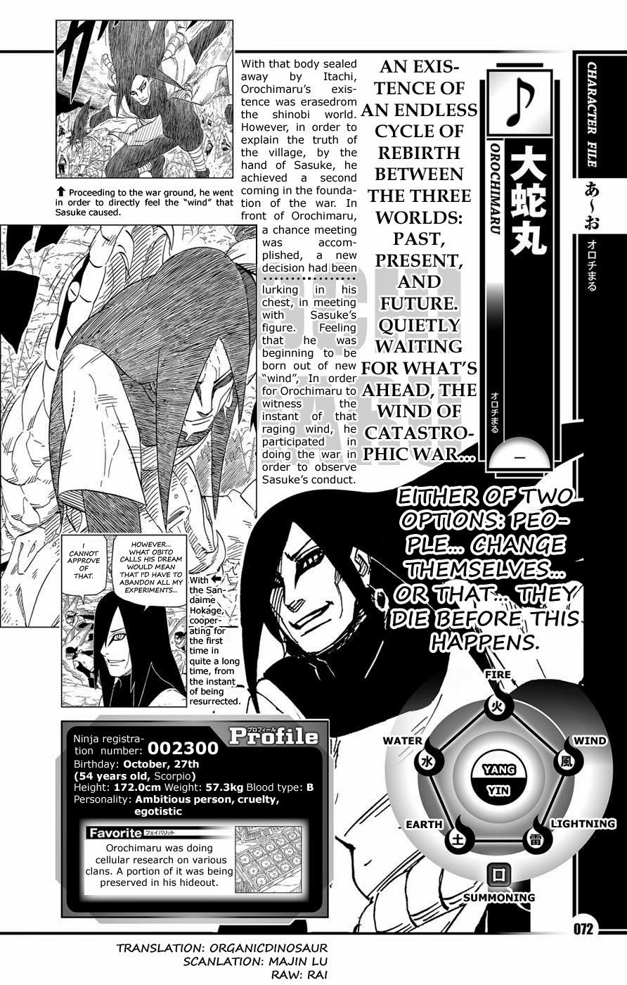 Naruto Character Data Book