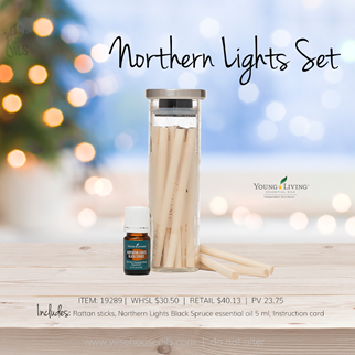 Young Living Gift Ideas Holiday Catalog 2018 Northern Lights Set A