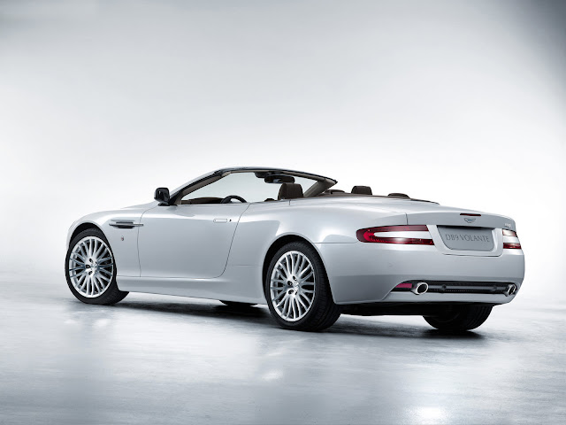 Art print  Aston Martin DB9-2009