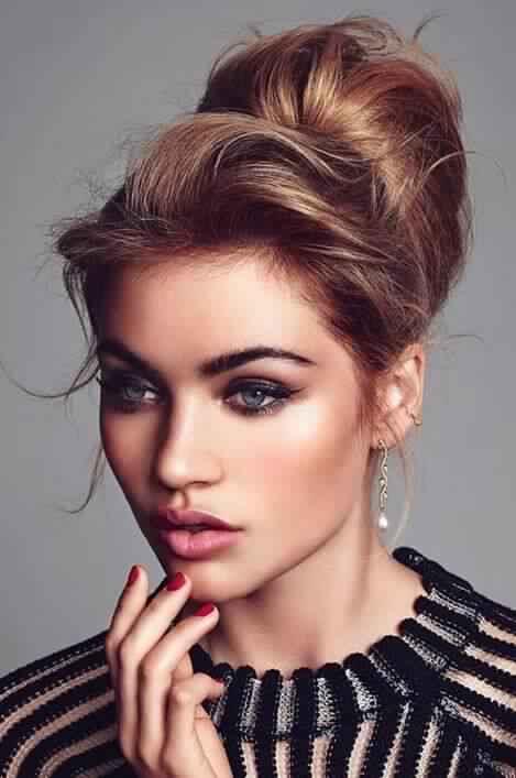 Cute Updo for Medium Length Hair